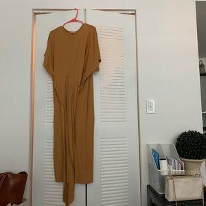 Tan Zara dress/shirt
